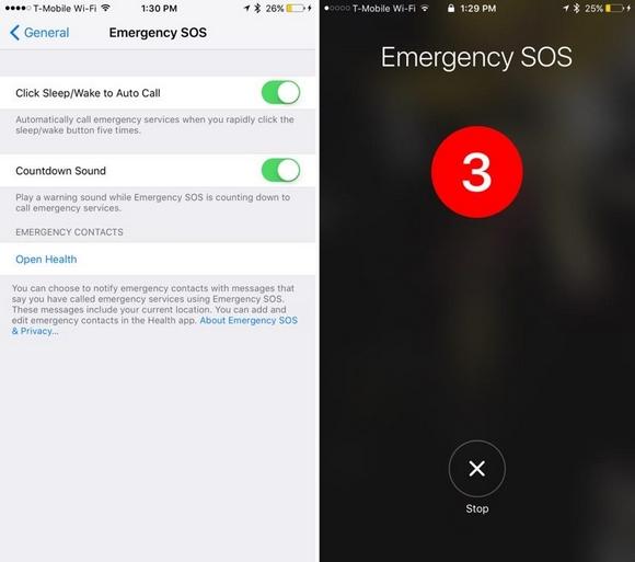 SOS iOS10.2 ベータ2