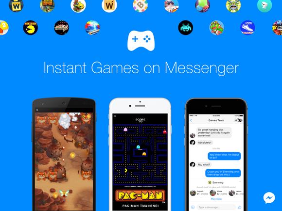 Facebook インスタントゲーム