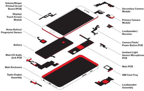 iphone 部品 トランプ