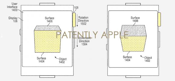 apple 特許 デジタルクラウン