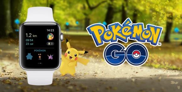 Apple Watch ポケモンGO