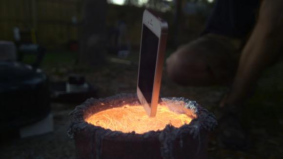 iPhone 溶鉱炉