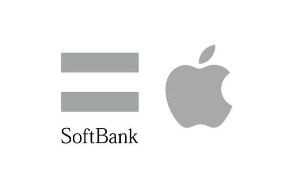 Apple ソフトバンク ロゴ