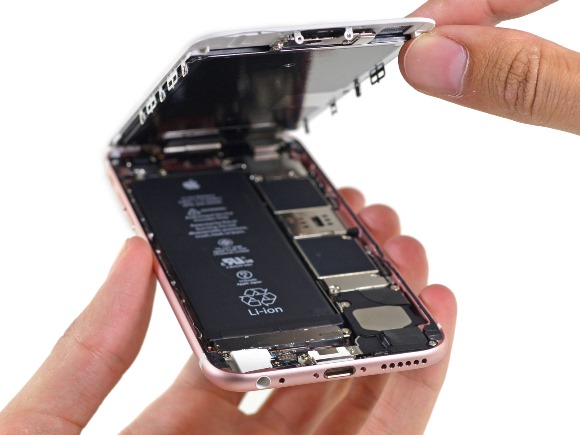 iPhone バッテリー iFixit