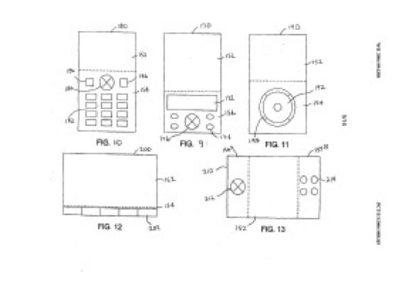 初代iPhone 特許画像