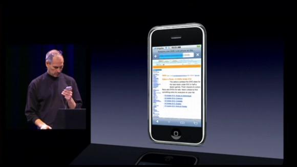 初代iPhone スティーブ・ジョブズ