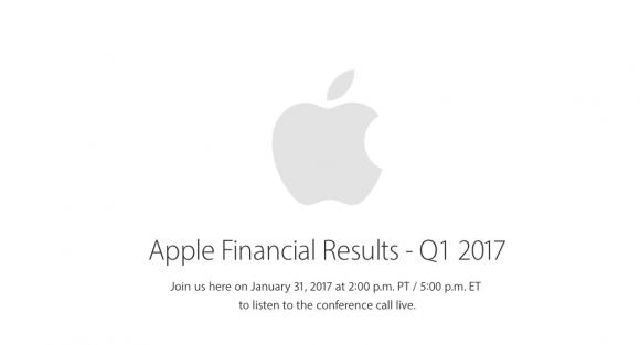 Apple 1Q2017 決算