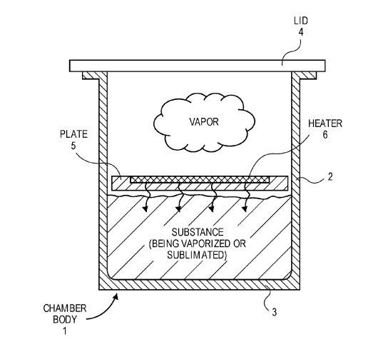 Apple 特許 気化器