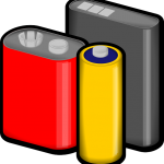 https://pixabay.com/ja/電池-赤-黄色-ブラック-電圧-電源-おもちゃ-料金-燃料-33406/