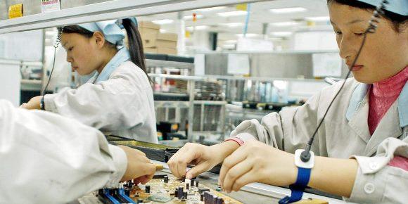 Foxconn 工場