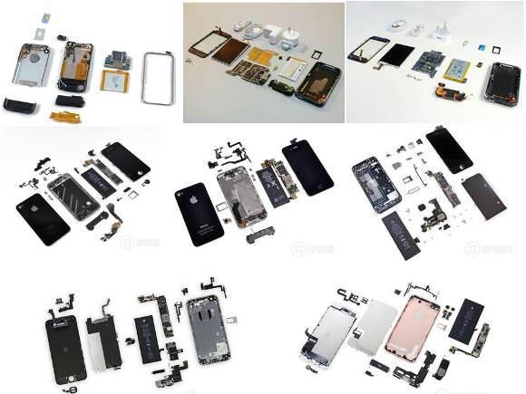 iFIxit iPhone 分解
