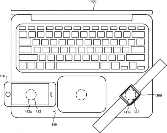 Apple インダクティブ充電 特許