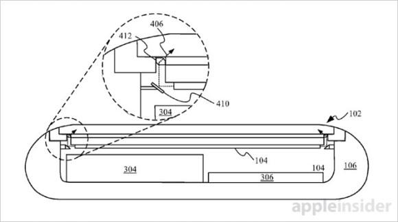 Apple 特許 ヒビ検知