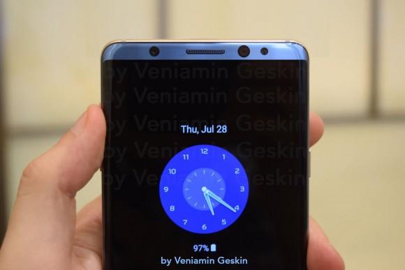 Galaxy S8 コンセプト