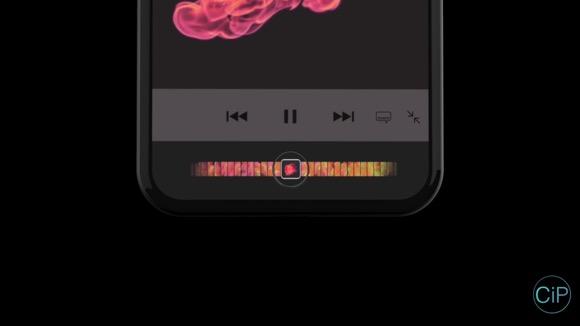 iPhone8 CM風コンセプト