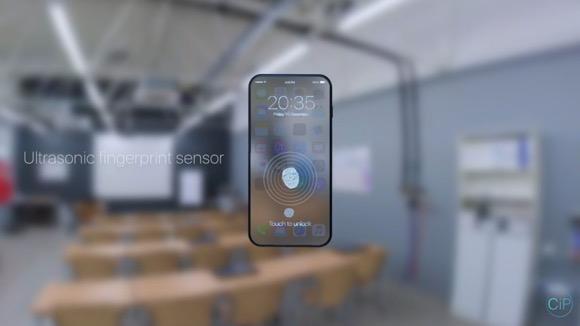 iPhone8 コンセプト 透明