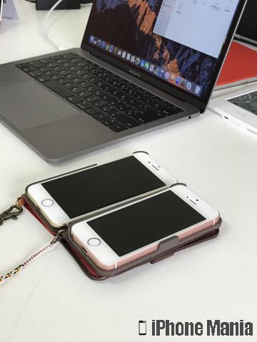 iPhoneの説明書 写真 カメラ 撮影 ポートレート