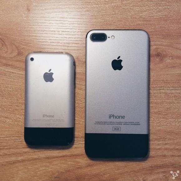 初代iphone iphone7 シール