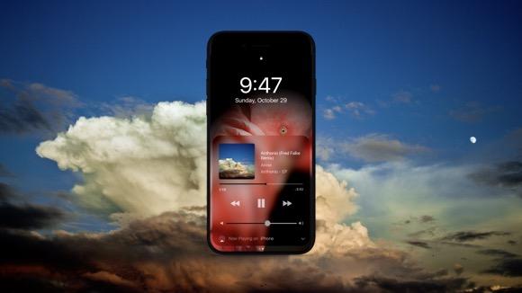 iOS11コンセプトデザイン