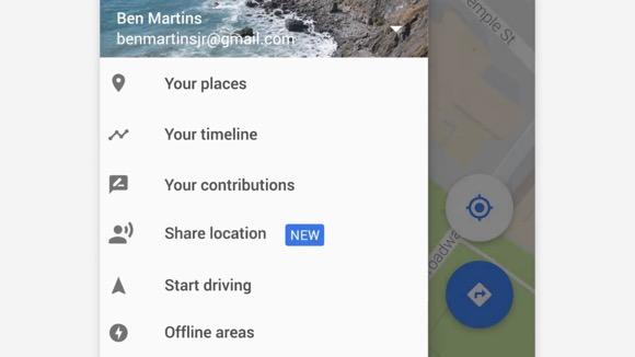 Googleマップ 位置情報共有