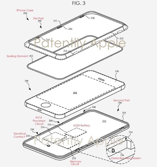Apple iPhone ケース 特許
