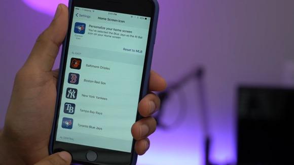 アプリのアイコンをユーザーが選択可能に