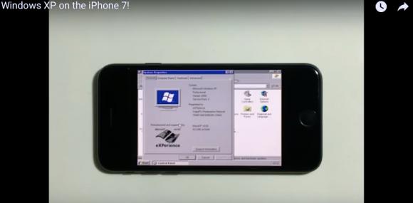 iPhone7 Windows XP