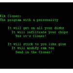 Elk cloner apple Ⅱ