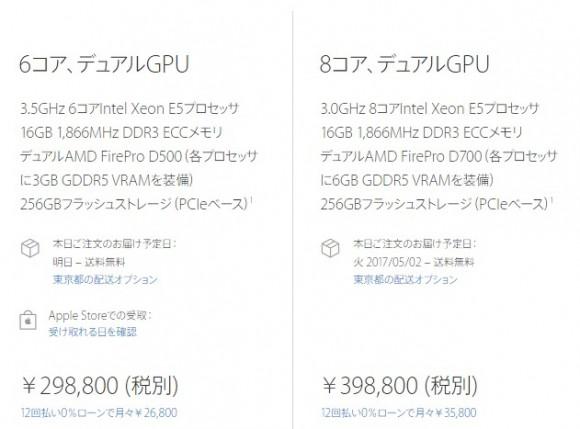 Mac Pro 8コア