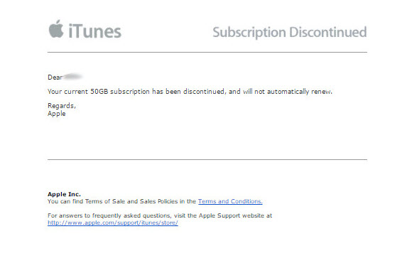 iCloud Apple メール