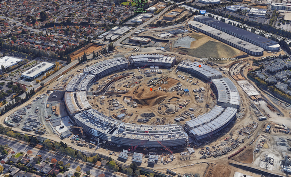 Apple Park Google Earth