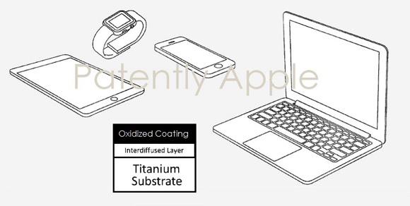 Apple チタン 特許