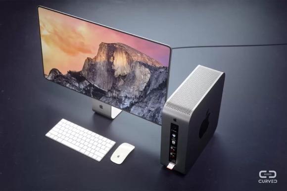 次世代Mac Pro コンセプトデザイン Curved
