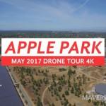 Apple Park 空撮動画 2017年5月