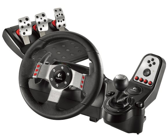 Logitech G27 Racing Wheel コントローラー
