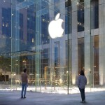 apple-fifth-avenue glassed entrance