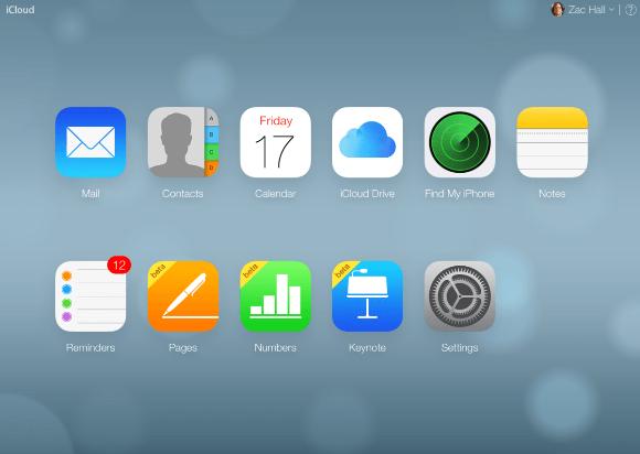 iCloud.com 2014年以前