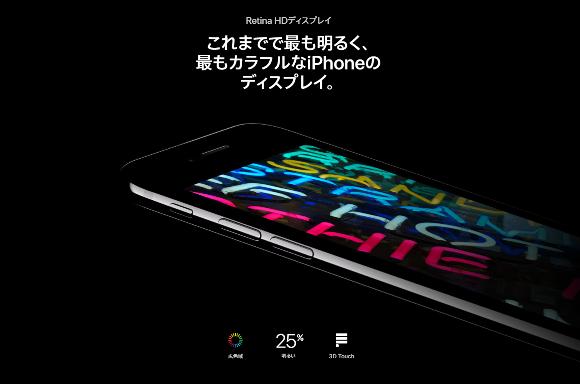 iPhone7 ディスプレイ