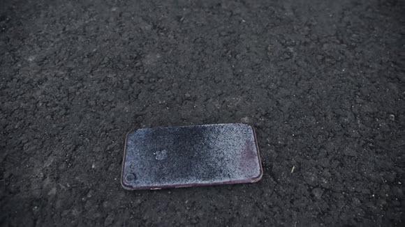 iPhone7 耐火 実験 TechRax