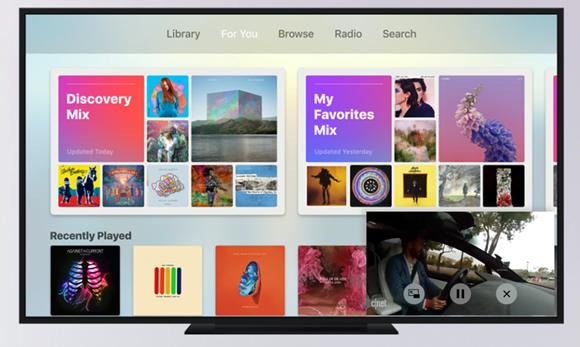 Apple TV tvOS 11