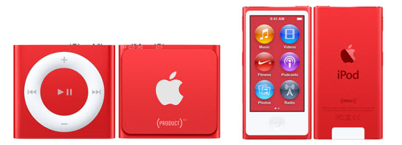 Apple (PRODUCT)RED (RED)