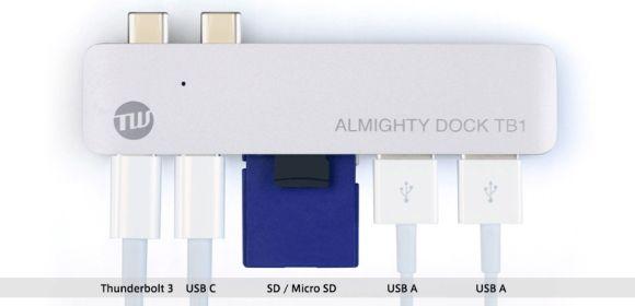 MacBook Pro TUNEWEAR ALMIGHTY DOCK TB1