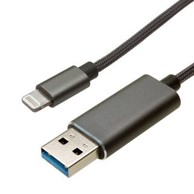 Lightning USBメモリ ケーブル