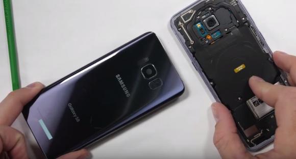 Galaxy S8 スケルトンボディ 改造