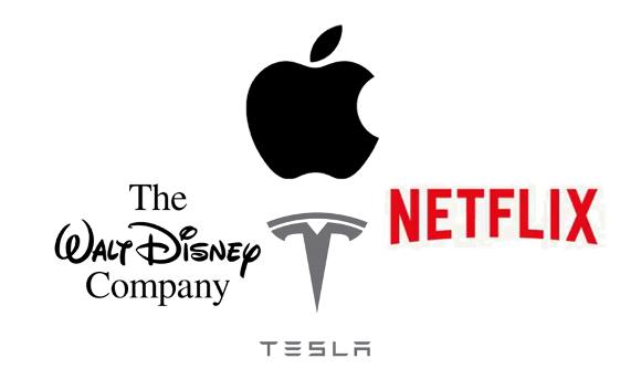 Apple 買収 Disney Tesla Netflix