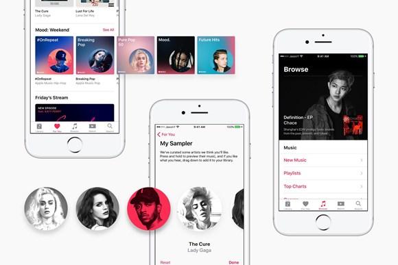 Apple Music iOS11