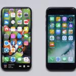 iPhone8 vs iphone7