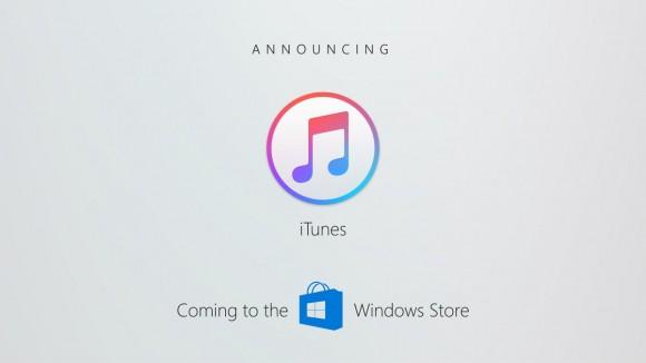 Microsoft iTunes Windows Store