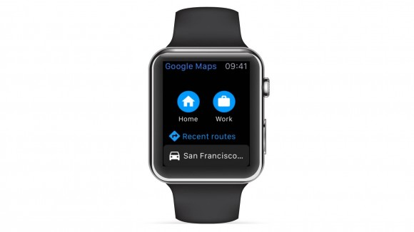 google maps マップ apple watch サポート