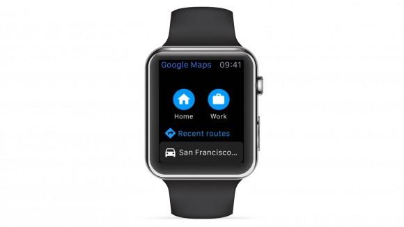 google maps マップ apple watch サポート